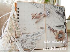 World Travel - Airplane Wishbook Airplane, Scrapbooking, World, Day, Travel, Plane, The World, Trips, Aircraft