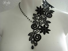 I love this.  Gotta get me one.  Victorian Necklace Gothic Jewelry Costume by stylbruchdesign, €21.90