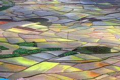 China Rice Field Art | ... annually was the growing rice fields. Planting, caring, harvesting