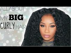 BIG CURLY HAIR UNDER $50 [HIGHLY REQUESTED] | AALIYAHJAY - YouTube