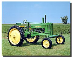 This amazing wall poster helps to transforms a mundane tractor into an aesthetic… Antique Tractors, Vintage Tractors, Vintage Farm, Framed Art Prints, Poster Prints, Wall Posters, Framed Wall, Old John Deere Tractors, Tractor Pictures