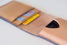 How to Make a Leather iPhone Flip Wallet