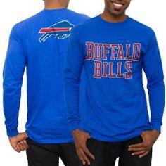 Men's Buffalo Bills Royal No Huddle Long Sleeve T-Shirt