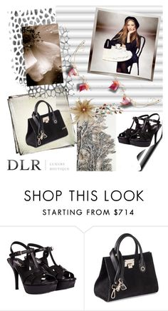 """""""DLRBOUTIQUE.COM"""" by irinavsl ❤ liked on Polyvore featuring Yves Saint Laurent and Jimmy Choo"""