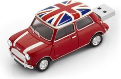 This novelty USB flash drive is stylized after the iconic British car, the Morris Mini Minor. This Mini Cooper British Pavilion USB Flash Drive works very Usb Drive, Usb Flash Drive, Cooper Car, British Things, Classic Mini, Union Jack, Apple Products, Mini Me, Cool Stuff