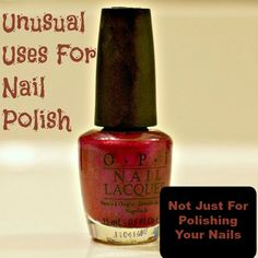 15 Unusual Uses For Nail Polish