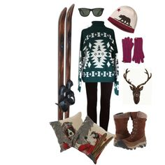 """Ski Weekend"" by duncanlovestess on Polyvore"