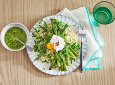 Pearl Couscous, Pistachio Pesto, Pesto Recipe, Food Facts, Avocado Toast, Asparagus, Veggies, Good Food, Dinner