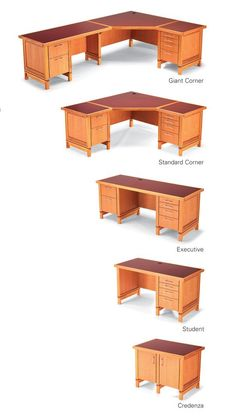 AW Extra - Modular Desk System - Woodworking Projects - American Woodworker