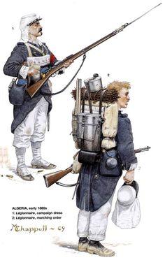 1880 c. French foreign Legion, Algeria