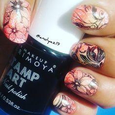#nails #nailart #stamping