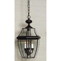 hinkley bromley 19 1 4 h museum black outdoor hanging light