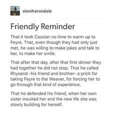 Cassian you are too pure ACOTAR ACOMAF ACOWAR