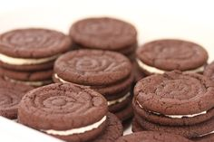 Karen's Kitchen Stories: Homemade Oreo Cookies | Fauxreos