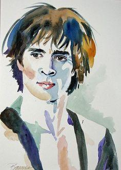 Rudolf Nureyev | Rudolf Nureyev by Diana Barnes - Pictify - your social art network