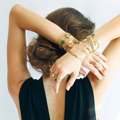 The Shiny Squirrel Brass Cuff, Bangles, Bracelets, Beautiful Outfits, Jewerly, Bling, Diamond, Chic, My Style