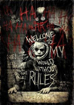 The Dark Knight was Heath Ledger's last movie, and he played the dark and insane Joker beautifully.