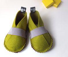 Toddler shoes felt shoes children spring clothing von svantjeshop, €39,80