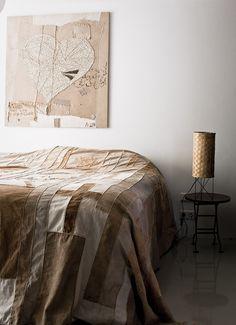 INVITING APARTMENT IN AMSTERDAM | 79 Ideas - #home #decoration #design - love the artwork!