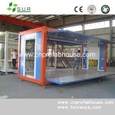 China casas pré-fabricadas expansível loja container