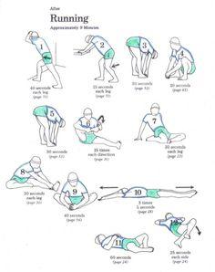 post-run stretch | REPINNED