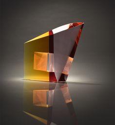 MARTIN ROSOL | Cast Glass Sculpture by Martin Rosol at - Schantz Galleries