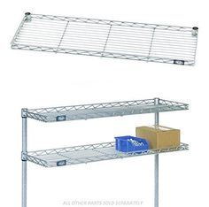 Shelves 134649: Nexel Cantilever Shelf Wire 36 Width X 12 Depth 1H Protective Rail On All Sides -> BUY IT NOW ONLY: $124.53 on eBay!