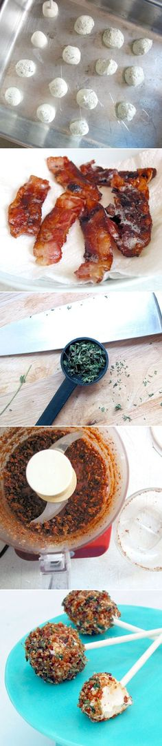 cheese (not whipped), tablespoons thyme or basil, cracked black pepper ...