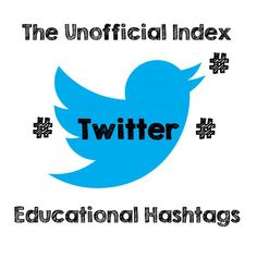 The Unofficial Index to Twitter Educational Hashtags  #SEOPluz