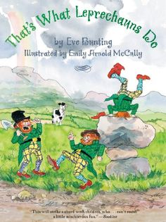 What do leprechauns do? They bury a pot of gold at the end of the rainbow, of course. But as Mrs. Bally Bunion's ox, Miss Maude Murphy's hen, and Old Jamie soon find out, they can't resist having a little fun along the way. For, besides burying pots of gold, mischief is what leprechauns do!From this amazing picture book duo comes a lively fun tale that's perfect for mischief makers of all ages!