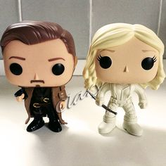 Rip Hunter Custom Funkopop and White Canary