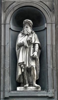 Uffizi Gallery - Leonardo Da Vinci Painting  - Uffizi Gallery - Leonardo Da Vinci Fine Art Print