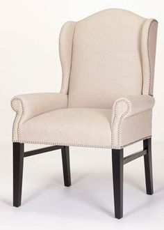 hemingway wing chair you can send in your own fabric with no upcharge from