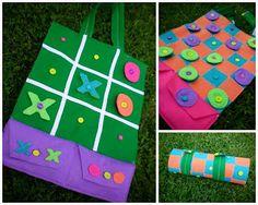 just Lu: Felt Game Board {tutorial} ....great gift idea