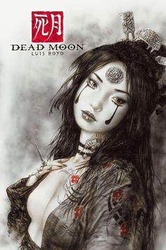 #Luis Royo, Dead Moon