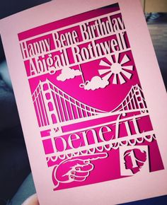 We just love seeing your BeneBirthday cards. xx