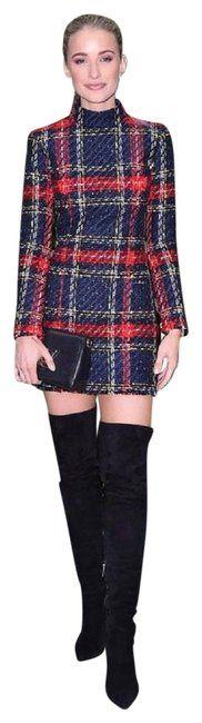 Balmain Multicolor Stunning Tartan Tweed Mini Short Casual Dress Size 4 (S). Free shipping and guaranteed authenticity on Balmain Multicolor Stunning Tartan Tweed Mini Short Casual Dress Size 4 (S)For sale is a stunning! BALMAIN Tartan Tweed Mini ...