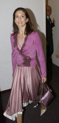 Mary, Crown Princess of Denmark, Countess of Monpezat (2004).