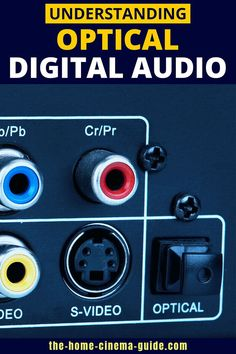 An optical output is a good way to hear surround sound. But when should you use this connection type? Check out my guide to TOSLINK optical digital audio. Surround Sound Speakers, Home Theater Setup, Home Cinemas, Digital Audio, Connection, Type, Band, Check, Accessories