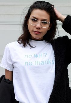 No Wifi Tee ⎽⎽⎽⎽⎽⎽⎽⎽⎽⎽⎽⎽⎽⎽⎽⎽⎽⎽⎽⎽⎽⎽⎽⎽⎽⎽⎽ Care Instructions - ▫ Wash garment inside out hot or warm ▫ Tumble dry normal ▫ Do not iron directly on graphic ▫ Do not dry clean ⎺⎺⎺⎺⎺⎺⎺⎺⎺⎺⎺⎺⎺⎺⎺⎺⎺⎺⎺⎺⎺⎺⎺⎺⎺⎺⎺⎺