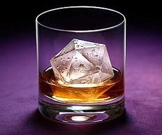 LOL!  Critical Hit D20 Ice Mold.  Turn your Dungeon  Dragons party into a drinking game!