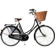 Buy the Pashley Princess Sovereign Classic Hybrid Bike online now. Free bike delivery, no fuss returns. Vintage Ladies Bike, Velo Vintage, Vintage Bicycles, Vintage Style, Retro Bicycle, Bicycle Shop, Bicycle Clips, Pashley Bike, Bici Retro