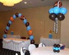 Sports Themed Baby Shower