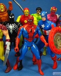 I have to admit that growing up in the '80s we had some pretty badass toys. They don't make toys like this anymore. I loved playing with action figures growing up, what kid didn't!? I have a lot of fond memories of those days and the hours upon hours I would spend playing with my action figure