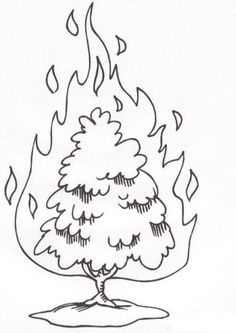 moses burning bush - Google Search