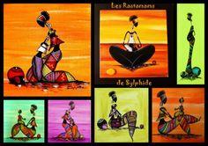Les Rasta'mamas et leurs petits (Modèles originaux, interdit de reproduction)