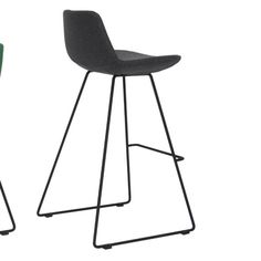 Pera Wire Bar Stool with Cushion Wire Bar Stools, Black Bar Stools, 24 Bar Stools, Counter Stools, Contemporary Furniture Stores, Contemporary Bar Stools, Steel Structure, Polyurethane Foam, All Modern