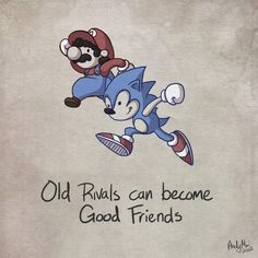 Life Lessons from Video Games (Sonic & Mario) >> I'm a Nintendo and Sega fan & in particular get fed up of Sega fans still harbouring a grudge against Nintendo & its fans for Sega going out of the console business. & besides I like Sega's games just as much as Mario, Kirby, Zelda, metroid, smash Bros etc.