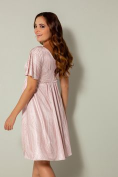 Kimono Maternity Dress Dotty Pink - Maternity Wedding Dresses, Evening Wear and Party Clothes by Tiffany Rose Maternity Dresses For Baby Shower, Maternity Gowns, Maternity Wedding, Dresses For Pregnant Women, Pregnant Wedding Dress, Pregnancy Wardrobe, Maternity Wardrobe, Tiffany Rose, Feminine Dress