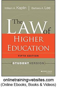 Download the official guide to the gre general test 3rd edition the law of higher education 5th edition student version fandeluxe Images
